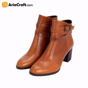 Picture of Women's Luxury Leather Ankle Boots Lora Model - Persian handicraft